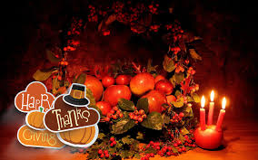 thanksgiving day apples fruits candles basket hd wallpaper