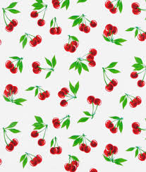 Cherry Kitchen Curtains by Red Paradise Lace Oilcloth Fabric Onlinefabricstore Net