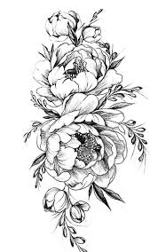 pattern flower drawing with colour best 25 flower tattoo designs