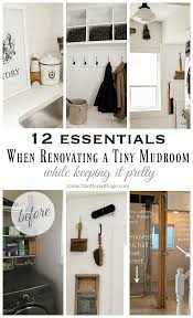 Renovating A Home by 12 Essentials When Renovating A Tiny Mudroom While Keeping It