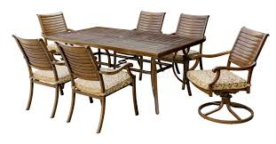 cm ot2126 t outdoor patio dining table w options