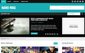nano mag blogger template high quality free blogger templates