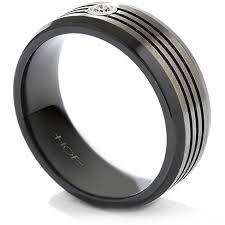 mens wedding bands melbourne hearts on commanding black titanium multi groove bevel mens