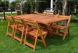 custom folding outdoor rectangular table made in u s a