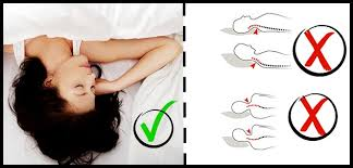 sleeping without pillow how to sleep to avoid stiff neck and wrinkles health awareness