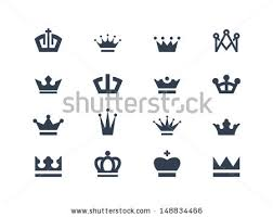 crown icons by popcic via shutterstock tattoo pinterest