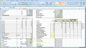 Construction Spreadsheet Templates Free Free Building Construction Estimate Spreadsheet Excel