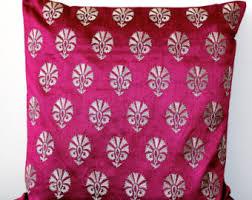 Pink Decorative Pillows Pink Throw Pillow Etsy