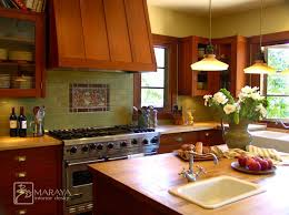 green tile kitchen backsplash 184 best tile in kitchens splashes images on
