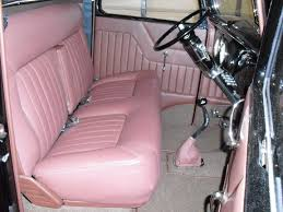 Vintage Ford Truck Seat Covers - 1937 ford truck rod interiors by glennhot rod interiors by glenn