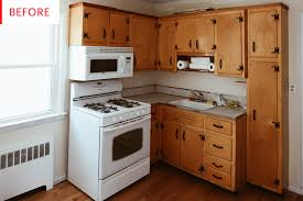 painting flat kitchen cabinets painting kitchen cabinets budget remodel before after