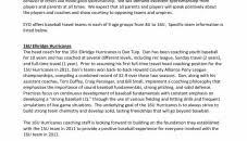 resume template exle resume templates basketballoach sles yun56o baseball