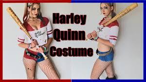 diy harley quinn costume for kids diy harley quinn costume from squad rave inspired youtube