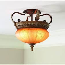 Hampton Bay Caffe Patina Chandelier Hampton Bay Chateau Deville 3 Light Walnut Bowl Pendant Lights
