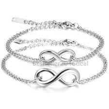stainless steel bracelet ebay images Mens infinity bracelet ebay jpg
