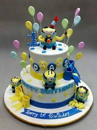 kids birthday cakes kids birthday cake minions picture of deliciae patisserie