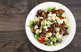 blt chopped salad with corn feta and avocado recipe by