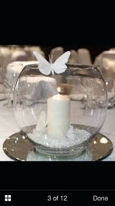 Fish Bowl Decorations Fish Bowl Decoration Tables Weddings Table Decorations For Wedding