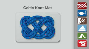 celtic knot mat how to make a celtic knot mat youtube