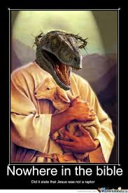 raptor jesus by lordchesnut meme center