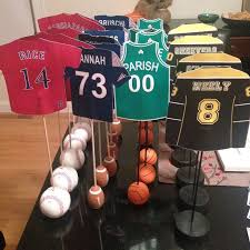 themed table numbers wedding theme boston sports themed table numbers 2370153 weddbook