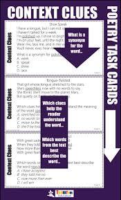 how to teach context clues teamtom education
