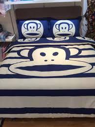 Monkey Bedding Set Designer Bedding Brand Bedding Set Kawaii Bedding Cartoon Monkey