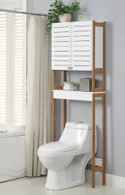 Over The Toilet Bathroom Storage by Amazon Com Organize It All Rendition Bath Spacesaver Home U0026 Kitchen