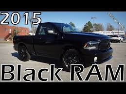 2015 black ram package youtube