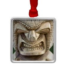tiki tiki christmas tree decorations u0026 ornaments zazzle co uk
