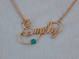 name necklace images Deluxe name necklace your name with a twist