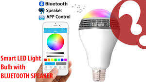 light bulbs controlled by iphone bluetooth speaker smart led light bulb playbulb with app