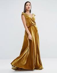 Carpet And Drapes Asos Asos Red Carpet Velvet Drape Maxi Dress Treat Yo Self