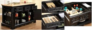 powell kitchen island stately powell furniture block black kitchen island review