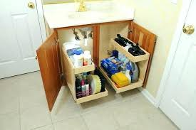 bathroom sink organizer ideas under the sink organization ideas best ideas about under bathroom