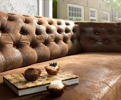 Esszimmerst Le Antik Leder Sofa Chesterfield 200x92 Braun Antik Optik 3 Sitzer Couch Möbel