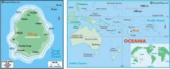 niue on world map niue map