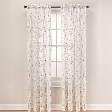 63 White Curtains Buy 63 Inch Sheer Curtain Panel From Bed Bath Beyond