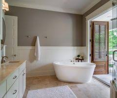 Fiberglass Wainscoting Auckland Shaker Style Wainscoting Bathroom Transitional With
