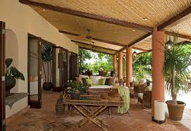 Pergola Ceiling Fan Covered Outdoor Patio Ideas Patio Tropical With Patio Furniture
