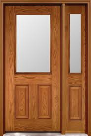 fibre glass door fiberglass doors with clear glass