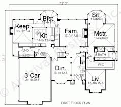 vorolles daylight basement plan traditional floor plan