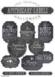 printable halloween specimen jar labels printable apothecary labels for halloween apothecaries witches