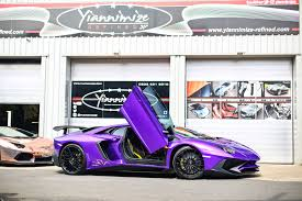 wrapped lamborghini lamborghini aventador sv amazing wrap youtube