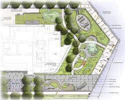 Amphitheater Floor Plan by Healing Garden Doubles As Therapy Trails Building Design