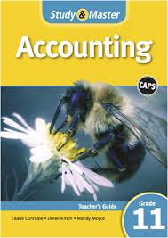 study u0026 master accounting grade 11 teacher u0027s guide e book