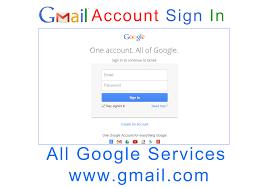 All Google Services Gmail Account Sign In
