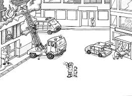 firefighter coloring pages your toddl web art gallery fire truck