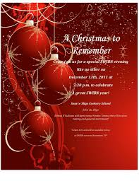 christmas party invite template word rainforest islands ferry