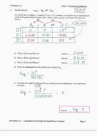 modeling chemistry unit 3 worksheet 1 answers worksheets